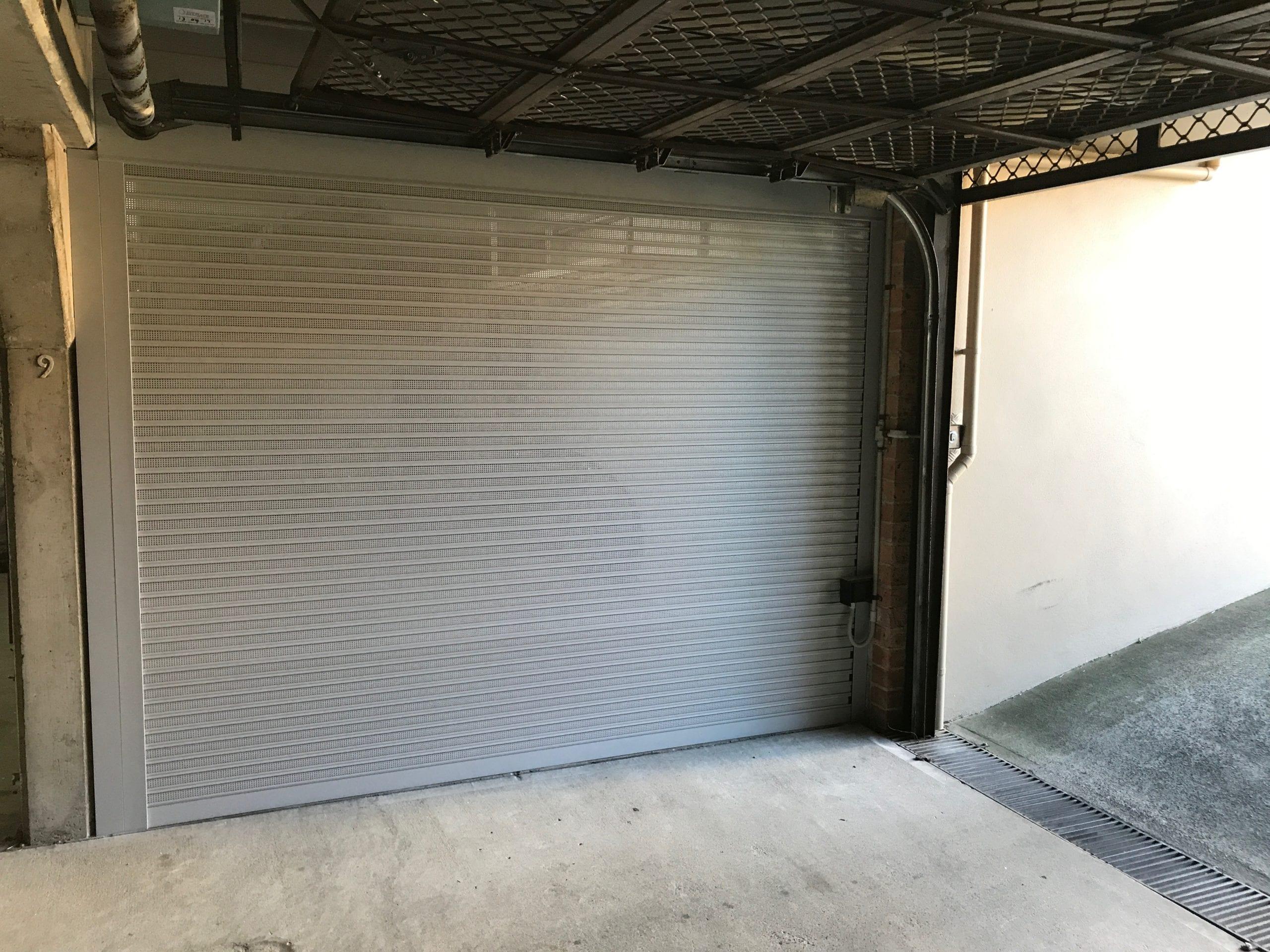 grey roller garage door sydney gold coast