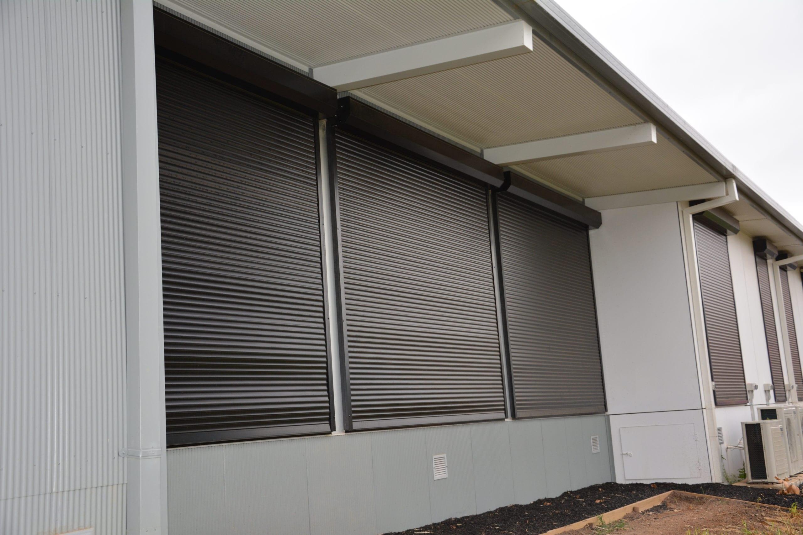 black security roller shutters sydney gold coast