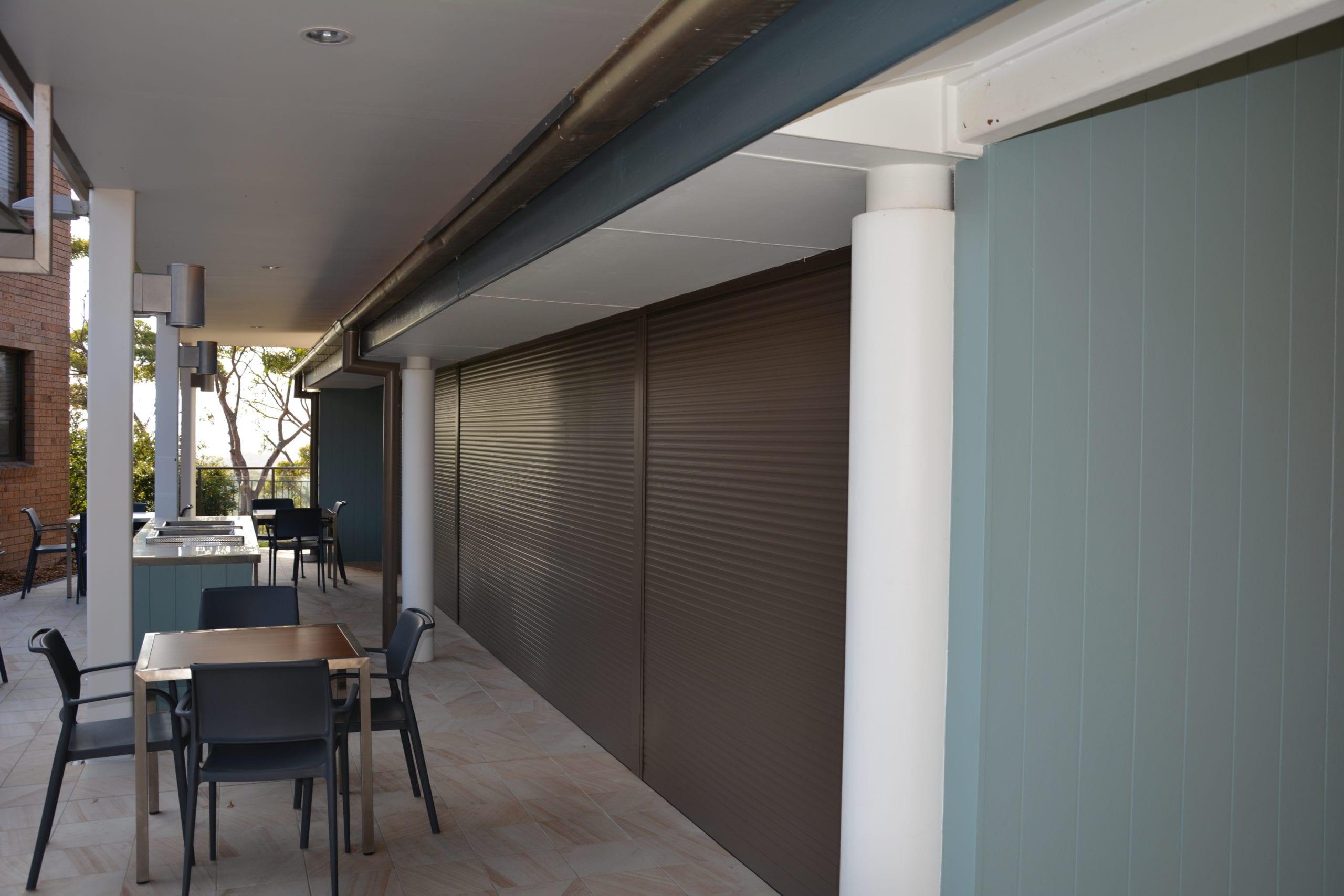 bushfire shutters