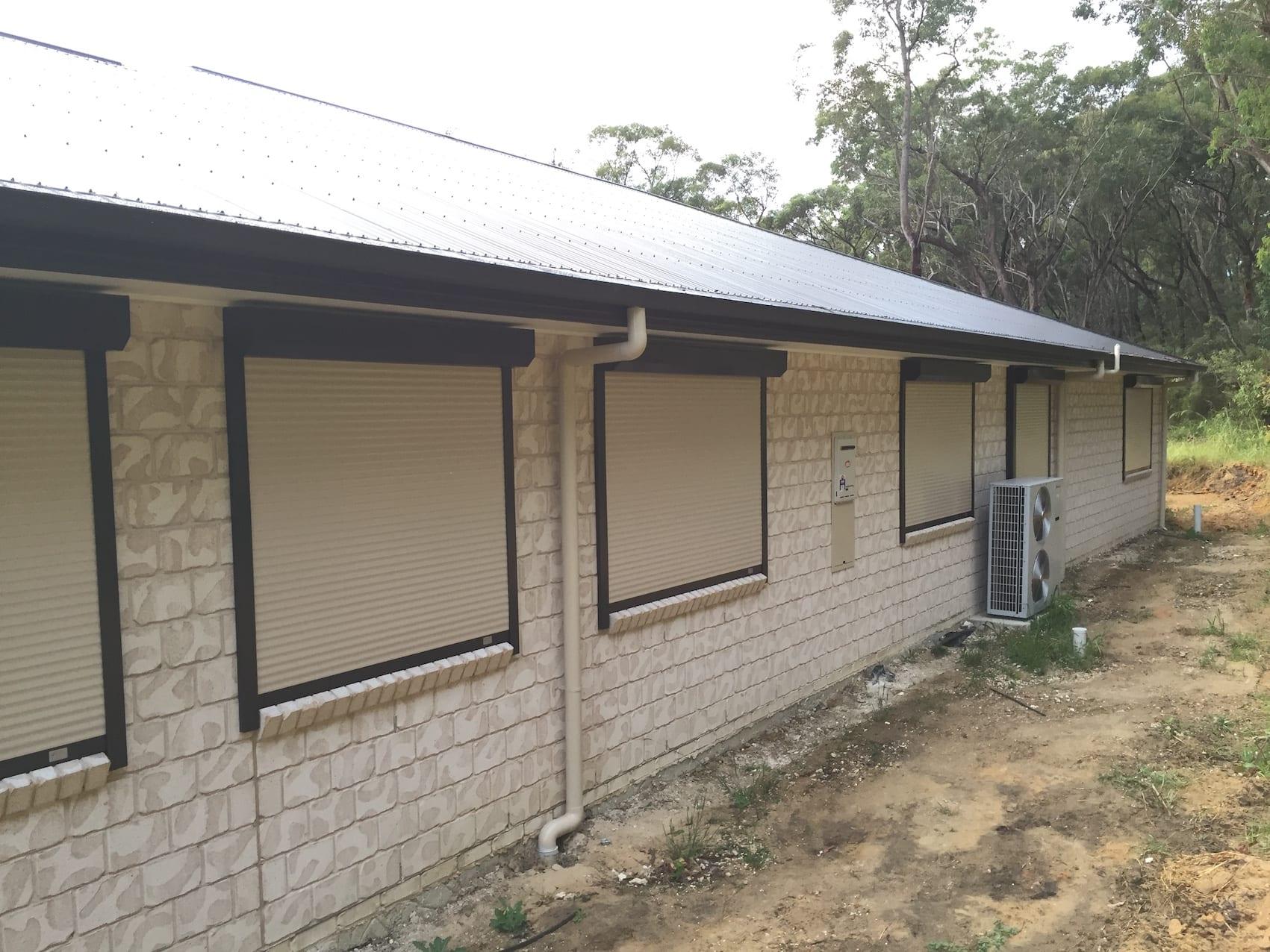 Outdoor Window Roller Shutters Sydney Gold Coast