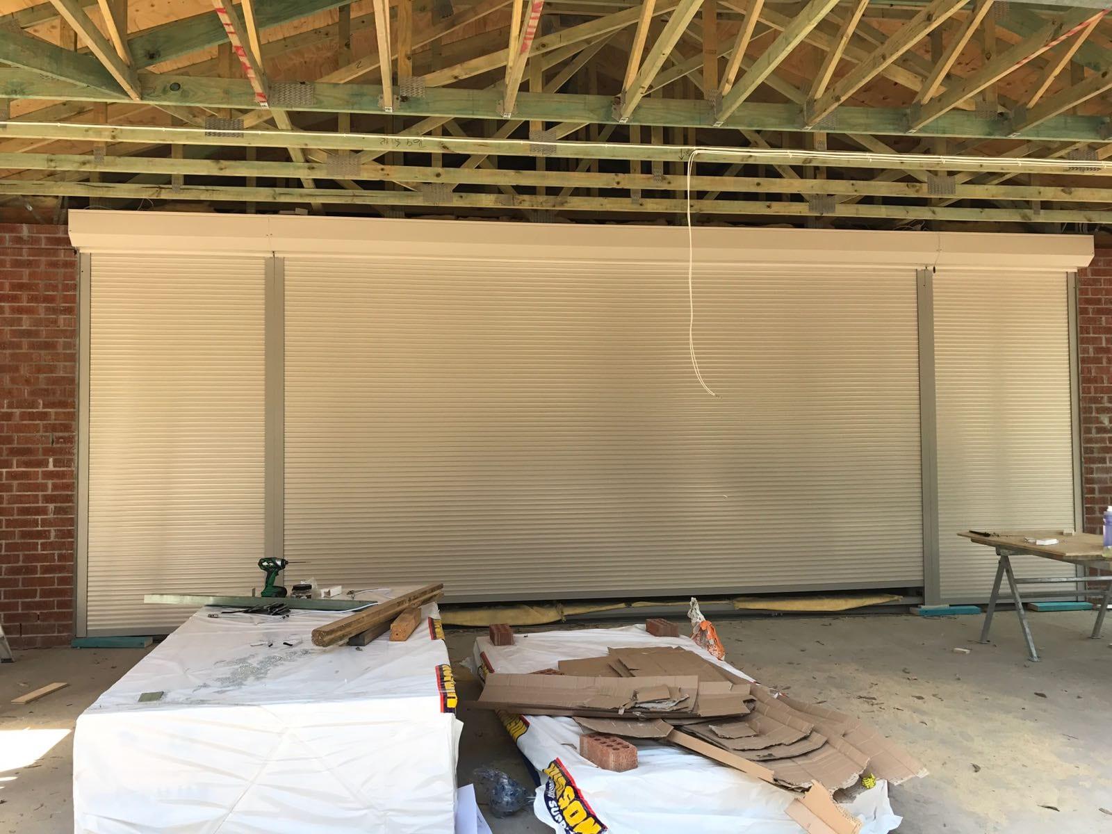 reinforced roller shutter doors sydney and gold coast