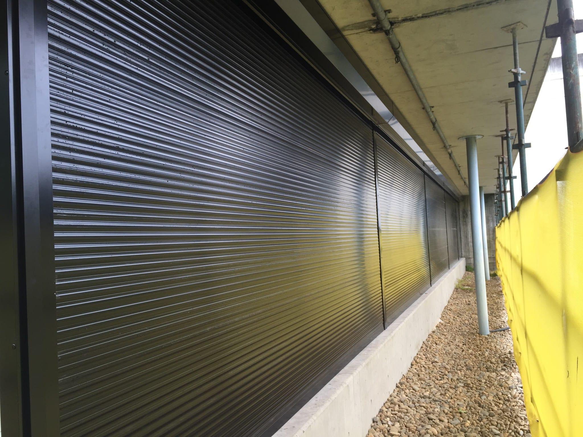 secure window roller shutters